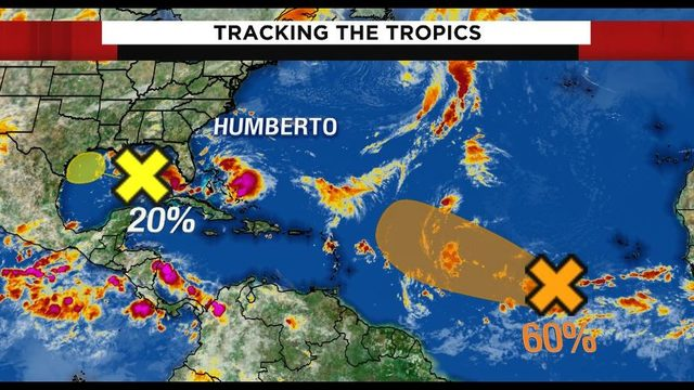 Forecasters watching new system in Gulf of Mexico