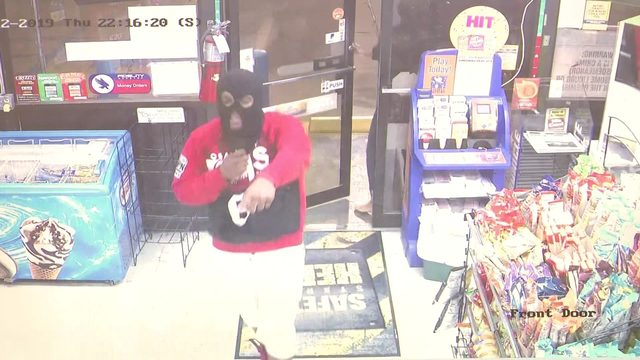 Masked trio rob Pasadena convenience store at gunpoint, surveillance…