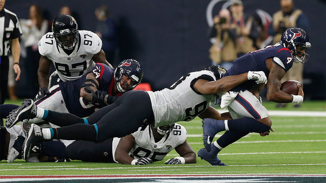 Texans-Jaguars Tale of the Tape