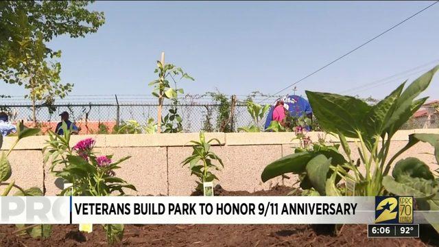 Veterans Build Park to Honor 9/11 Anniversary