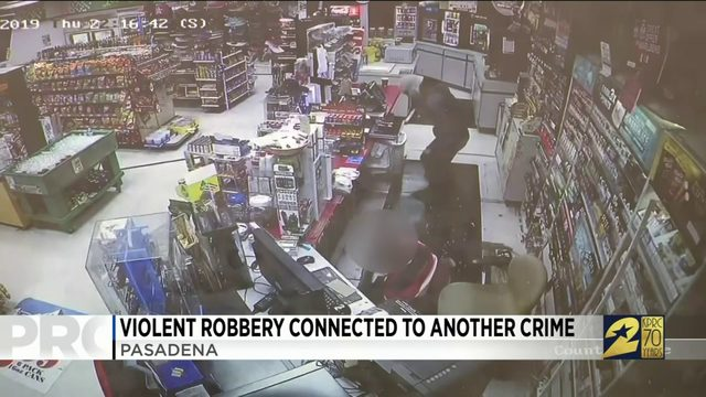 Violent Robbery Connected to Another Crime