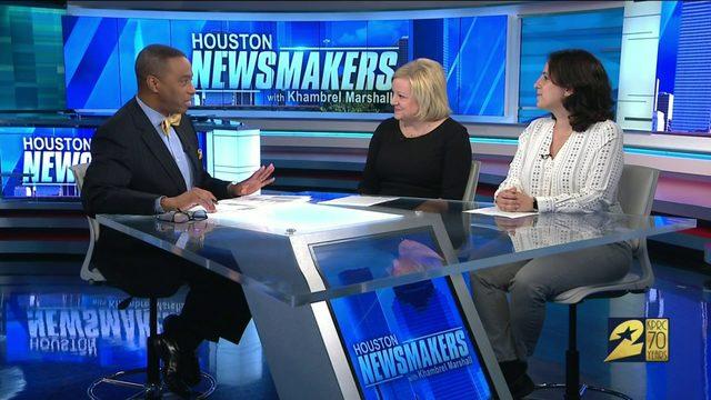 Houston Newsmakers: Komen Houston Race for the Cure