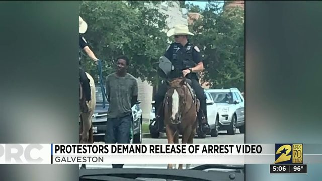 Protestors Demand Release of Arrest Video