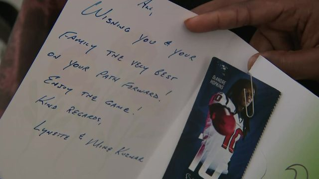 KPRC 2 viewers gift Texans tickets to family injured during July 4th…
