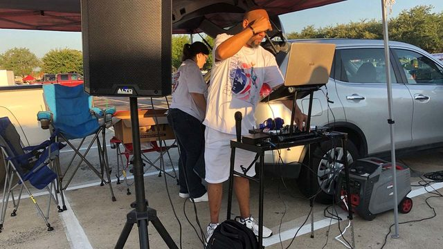 PHOTOS: Houston Texans fans tailgate ahead of game against Jaguars