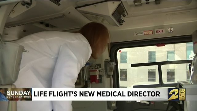 Life Flight's New Medical Director