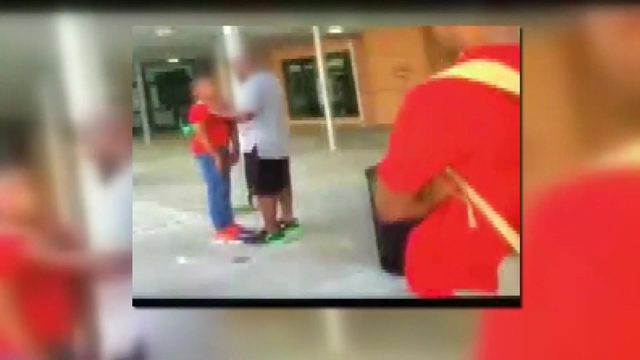 VIDEO: Father shoves 7th-grade student who had altercation with his son