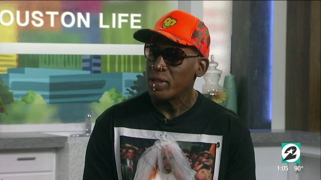 5 things we learned about Dennis Rodman on his visit to Houston Life