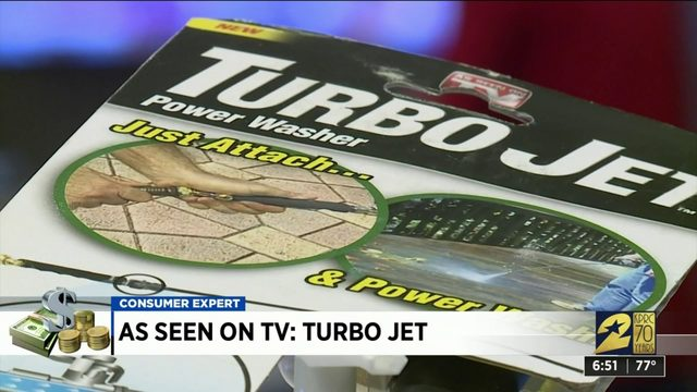 As seen on TV: TurboJet Power Washer