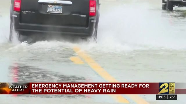 Harris County preparing for heavy rain