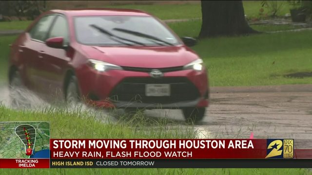 Tracking Imelda: Watching for potential flooding in Friendswood