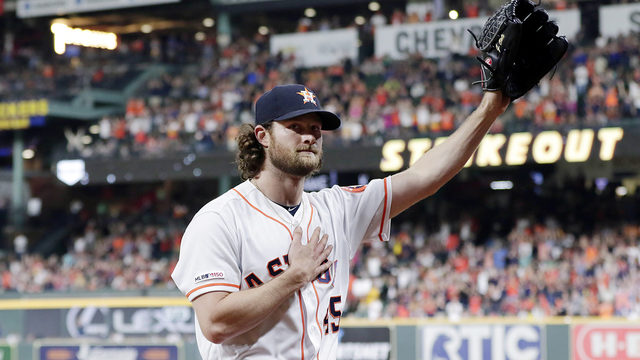 Astros extend Gerrit Cole 'qualifying offer' in effort to keep him