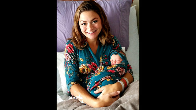 KPRC 2 meteorologist Britta Merwin has a baby girl