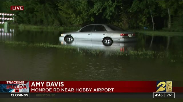Flooding near Hobby Airport