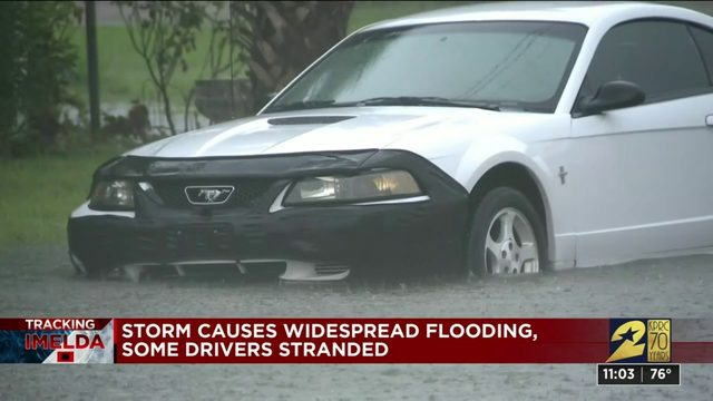 TRACKING IMELDA: Storm causes widespread flooding in Galveston