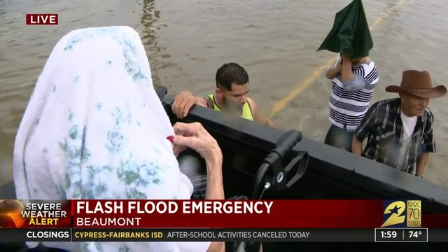 Beaumont water rescue