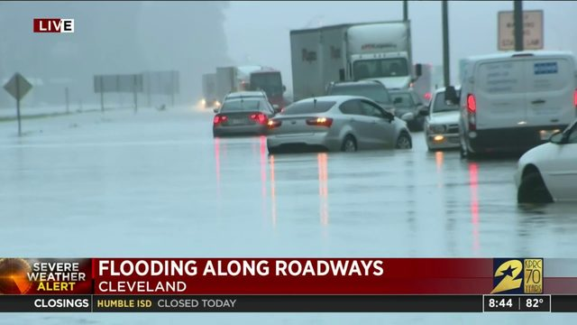Flooding in Cleveland area