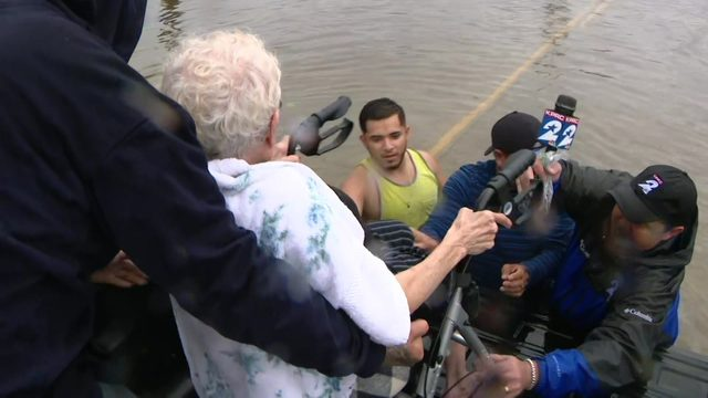 IMELDA FROM THE FIELD: Rising waters, rescues and stalled vehicles…