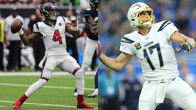 Quarterback tale of the tape: Watson vs. Rivers