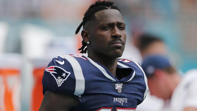 New England Patriots cut wide receiver Antonio Brown