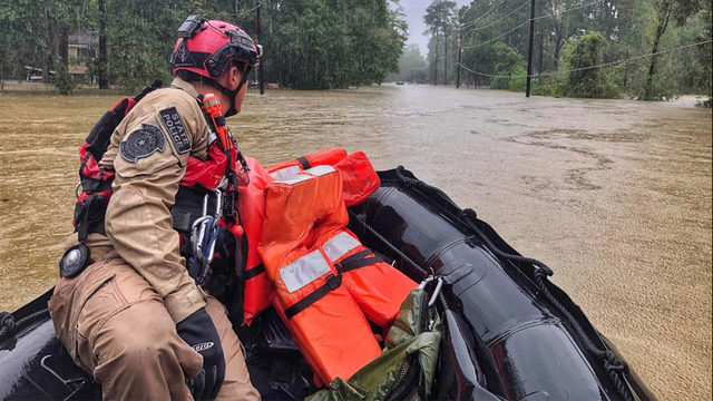 Montgomery County officials give update on aerial flooding,…