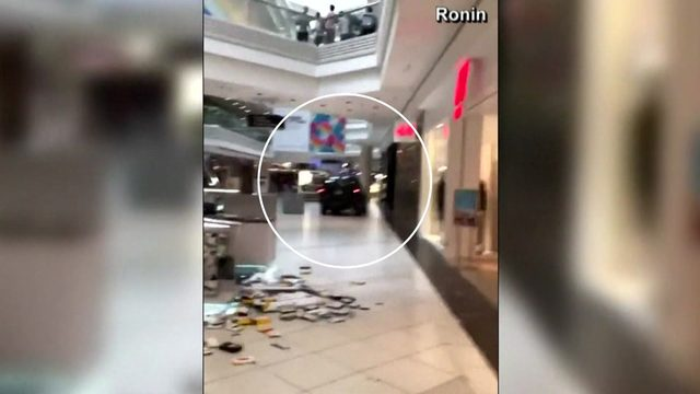 SUV drives through Chicago-area mall and crashes into store