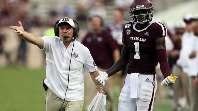 MONDAY HUDDLE: Texas A&M offense slow to get going again