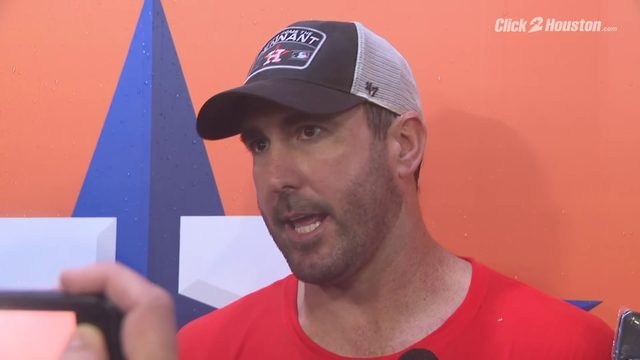 Justin Verlander post Astros clinch