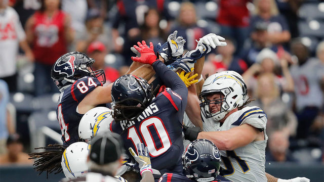 LIVE BLOG: Houston Texans take on Los Angeles Chargers