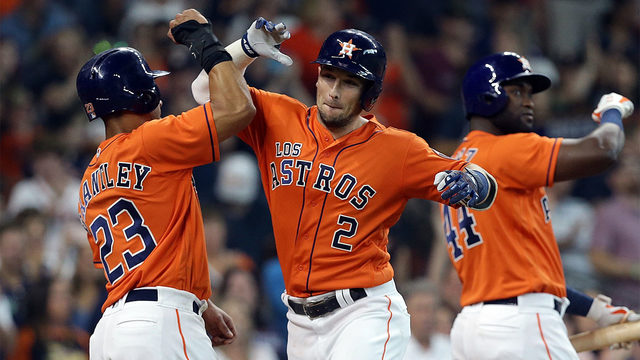 Astros beat the Angels, 13-5, to clinch the 2019 AL West Division title
