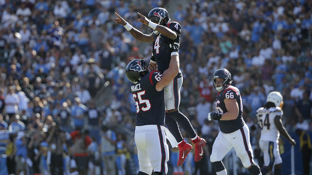 What Texans said after road win in Los Angeles