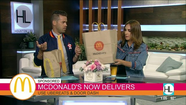 McDonald's is now delivering in Houston | HOUSTON LIFE | KPRC 2