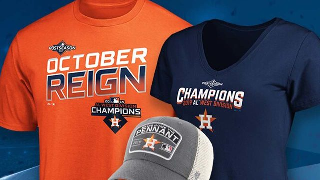 3 must-have items to support the Astros as they head into postseason