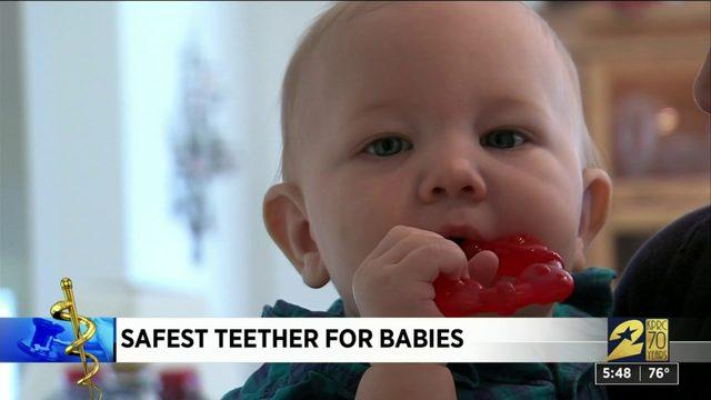 Safest teether for babies