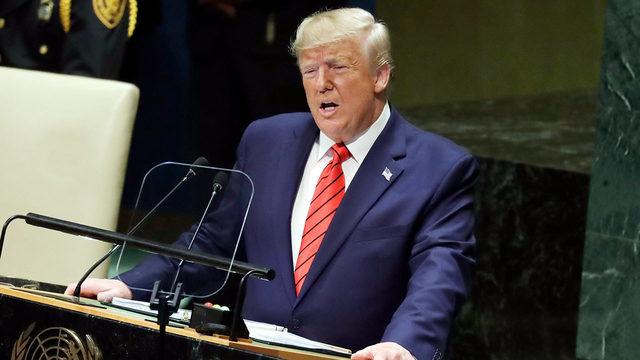Trump attacks globalism, while putting pressure on Iran