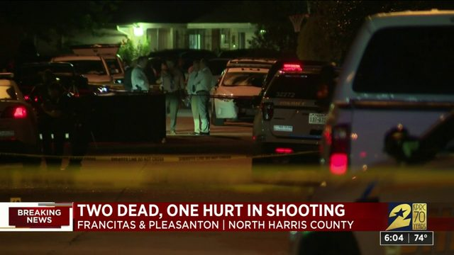 Two dead, one hurt in shooting