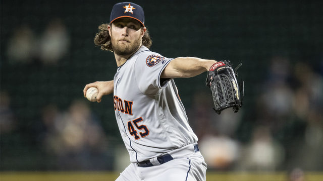 Gerrit Cole becomes new Astros' strikeout king after 3-0 win over Mariners
