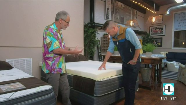 Get a better night's sleep with a locally made mattress from Texas…