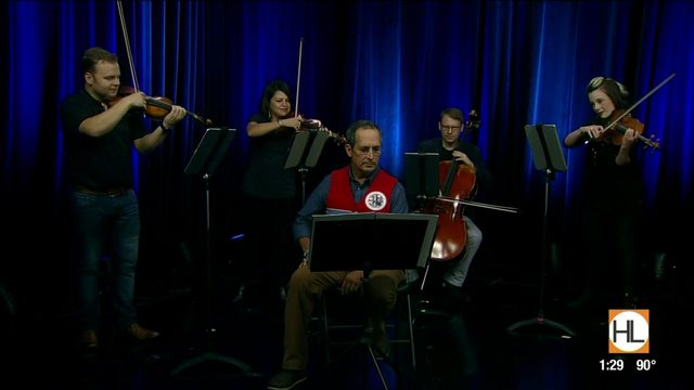 Houston's own Apollo Chamber Players team up with Astronaut John…