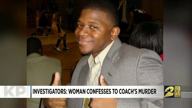 Investigators: Woman confesses to coach's murder