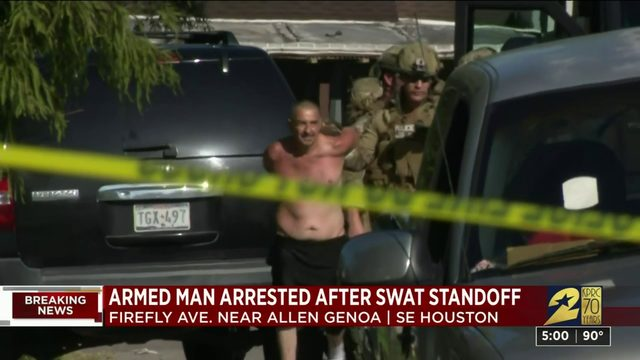 SWAT response at southeast Houston home ends peacefully
