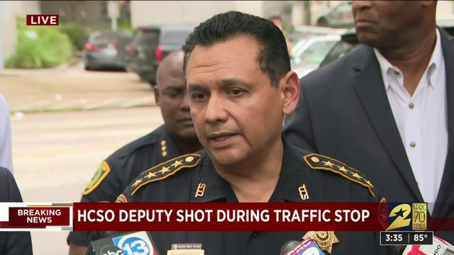 """Coldblooded"": Sheriff Gonzalez says suspect shot deputy from behind"