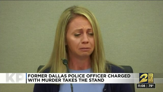 Ex-Dallas police officer Amber Guyger takes stand at her murder trial
