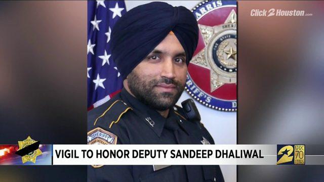 Vigil to Honor Deputy Dhaliwal