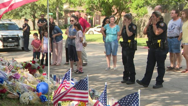 Friends Remember Fallen Deputy