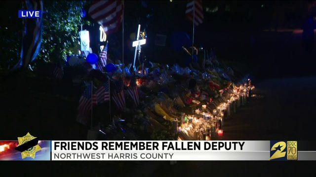 Friends Remember Fallen Deputy