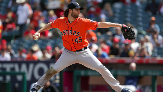 Cole gets 20th win, tops AL in ERA, Ks as Astros beat Angels