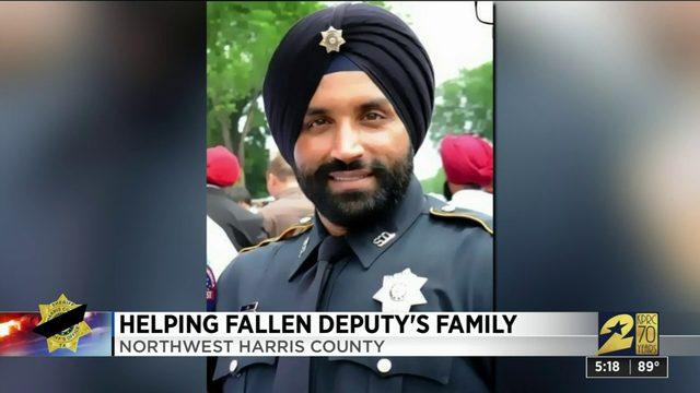 Helping Fallen Deputy's Family