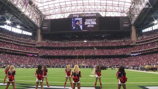Texans take moment of silence for Deputy Dhaliwal