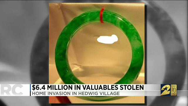 $6.4 million in valuable stolen